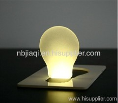 pocket card LED night light