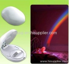 creative LED night light with rainbow