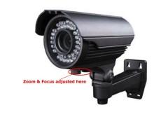 700TVL Varifocal lens Camera