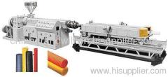 Single/Double Wall Corrugated PE Pipe Extrusion Line