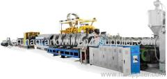 DOUBLE WALL CORRUGATED PE PIPE EXTRUSION LINE