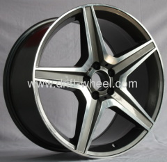 19 INCH STAGGER SIZE MERCEDES AMG WHEEL RIM FITS MERCEDES C CL CLK E S SL SLK CLASSES