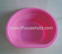 pink collapsible