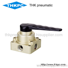 HV400-04 5/2 way Hand Switch Valves