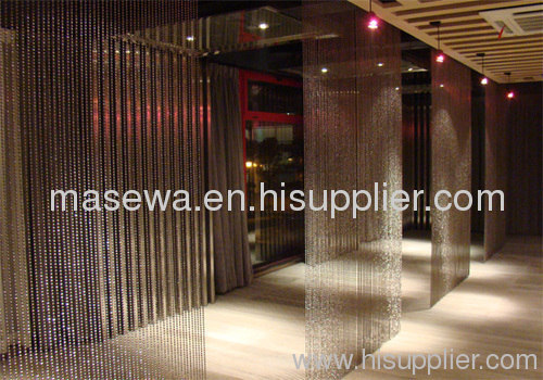 room decor decoration material metal curtain