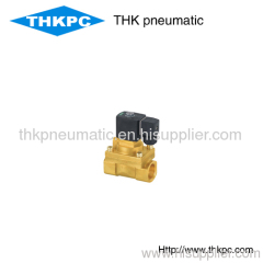 2 way brass high temperature solenoid valve