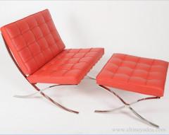 Barcelona chair and ottoman Barcelona chair