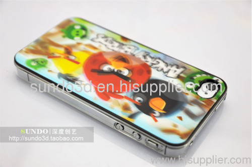 Angry bird sticker,3D postercard , mobilephone promotion gift