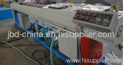 PVC double pipe process machine