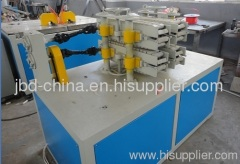 PVC twin pipe extrusion machine