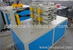 PVC twin pipe extrusion machine
