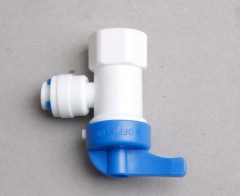 water purifier parts quick adapter ball valve