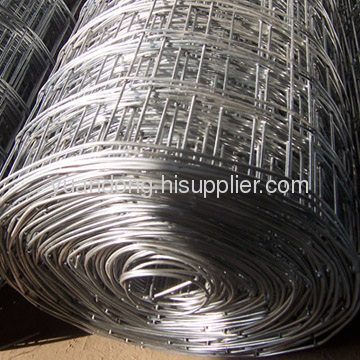 construction welded galvanized mesh hot dipped PVC 2x2