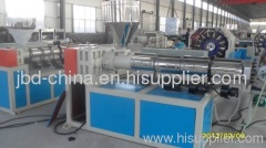 PVC braided fiber reinforced hose production line
