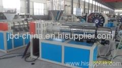 PVC braided fiber reinforced hose production line