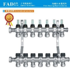 FDA series stainelss steel manifold for flooring heating