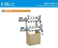 FJK series stainless steel manifold for floor heating system