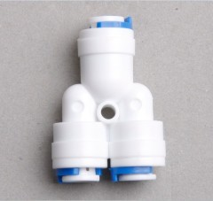 Water filter pipe quick adapter wo ways splitter