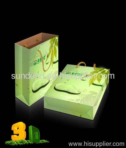 3D lenticular promotional gift bag