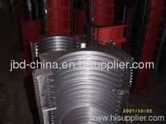HDPE double wall corrugated pipe making machine