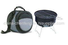 2 IN 1 cooler bag and BBQ grills combo