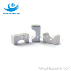 bridge shape ndfeb magnet.sintered strong ndfeb magnet