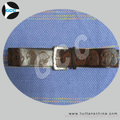 Multi Loops PU Belt with Boy