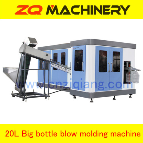 pet reheat stretch blow moulding machine