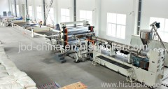 PP/PE/ABS thick board making machine