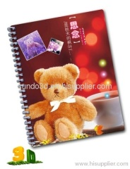 3d lenticular Nootebook