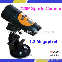 Waterproof Outdoor Sports Camera / Helmet Camera, HD 720P Action Camera, Can Be Used As PC Camera