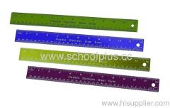 colorful Stainless steel rulers
