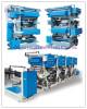 1-8 Color Plastic Bag Printer, Rotogravure Printing Pe Film Machine