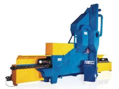 inner and outer wall special steel pipe shot blasting machine