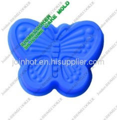 butterfly design silicone baking tray