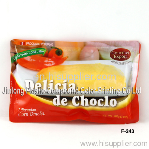 retort pouch for food