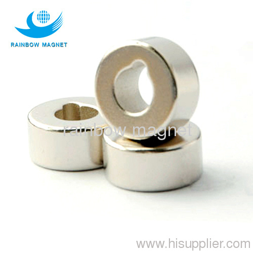 neodymium abnormity ring magnet.ring ndfeb with sunk hole
