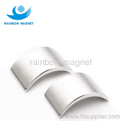 Permanent neodymium Iron Boron ARC magnets
