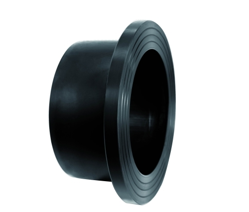 Flange end butt fusion stud hdpe
