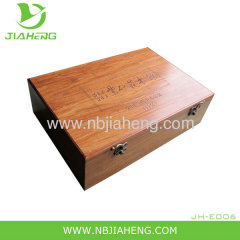 BAMBOO RECIPE BOX With COMPLIMENTARY INDEX CARDS NEW HOLDS