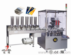 Automatic carton packing machine for pouch