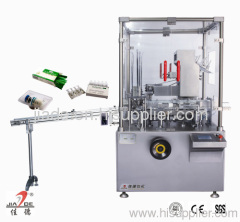 Automatic carton filling machine for ampoule