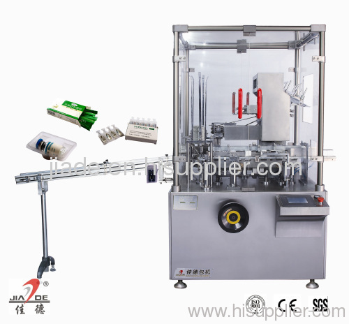 carton filling machine for ampoule
