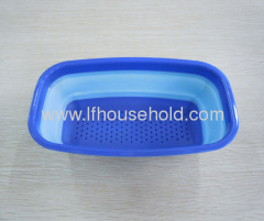 rectangle collapsible colander