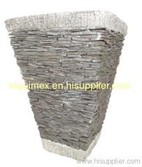stone flower sampah