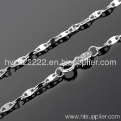 fashion 18k white gold necklace,gold jewelry,fine jewelry