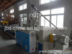 wood-plastic production line