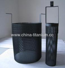 titanium anode tube