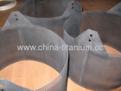 titanium material for heat exchanger