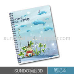 3D Notebook & Diary